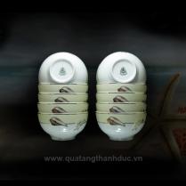 Chén cơm 12cm Hương Biển Kem
