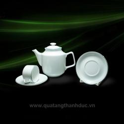 Bộ trà 0.7L Chỉ Xanh Lá