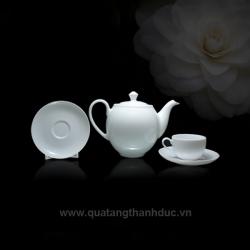 Bộ trà 0.5L Came Trắng